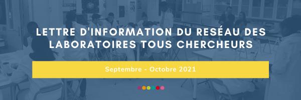 Lettre d'information #15 – Septembre / Octobre 2021